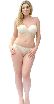 A Curvy Kate 3-part construction bra