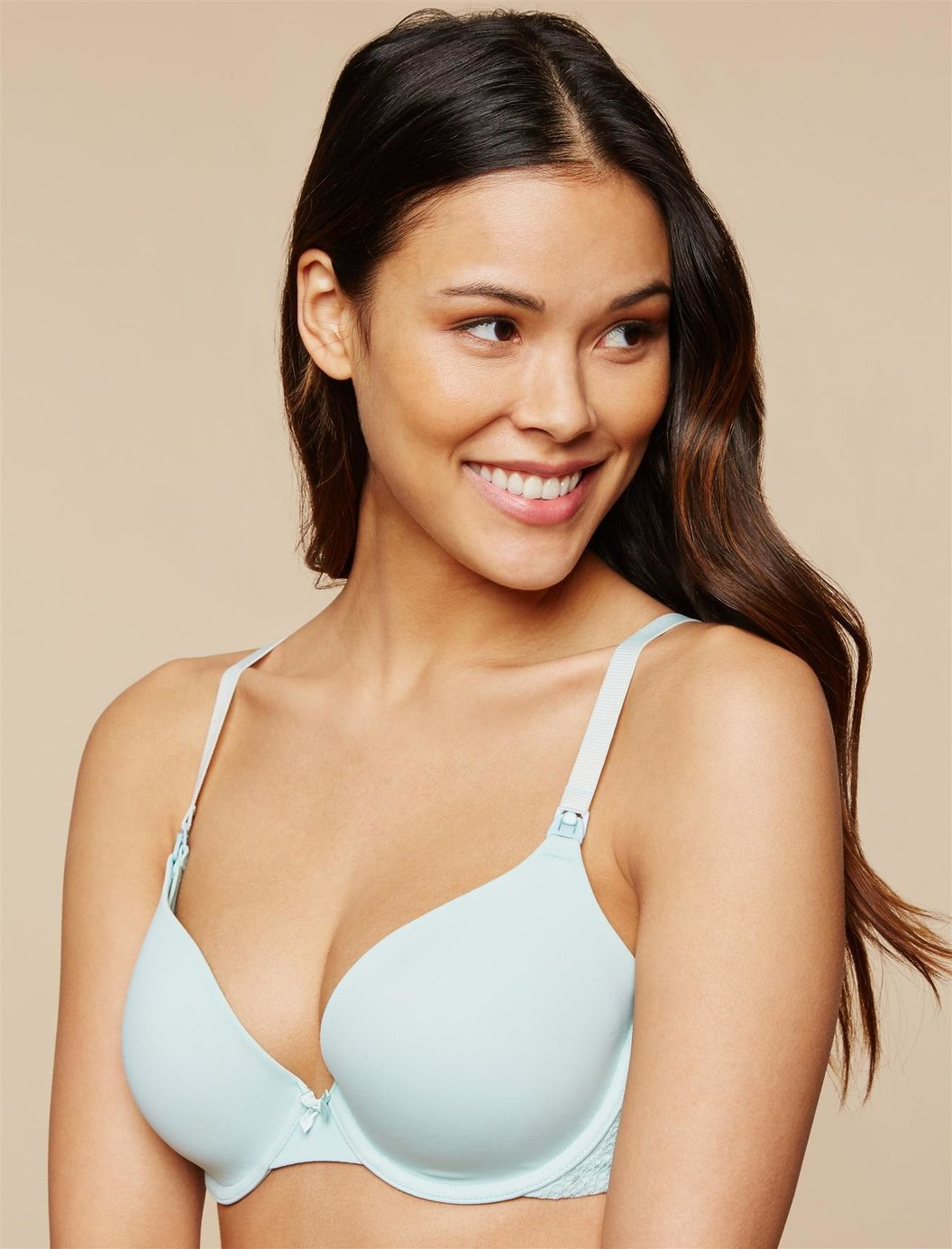 well-fitting underwire nursing